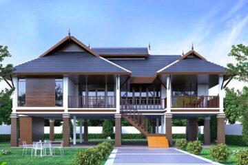 บ้านสไตล์ไทยประยุกต์สวยแค่ไหนมาดู
