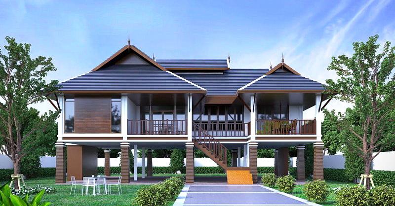 บ้านสไตล์ไทยประยุกต์สวยแค่ไหน